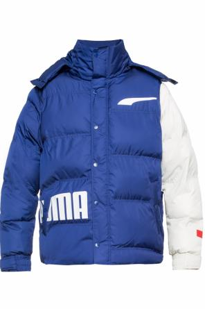 Branded quilted jacket od Puma