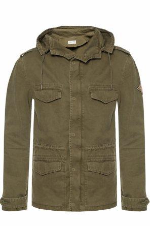 49085dd45682c ... Logo-patched jacket od Saint Laurent