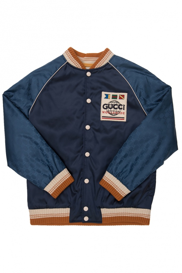 Gucci Kids Jacket with logo