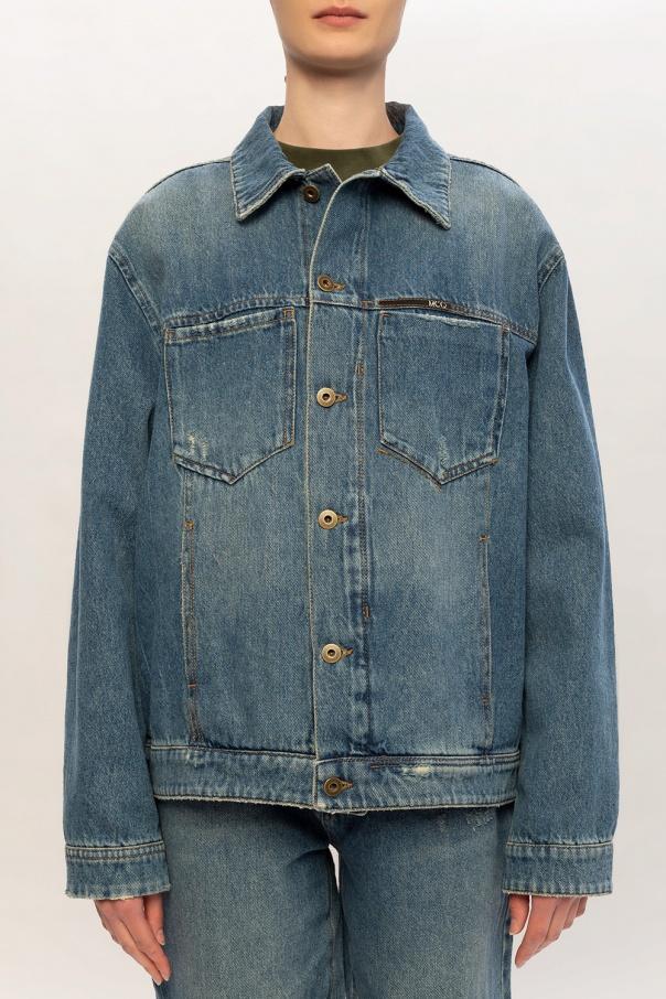 Branded denim jacket od McQ Alexander McQueen