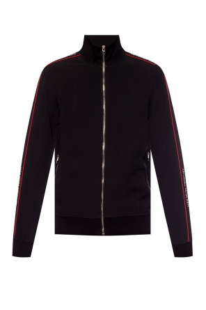 Sweatshirt with band collar od Alexander McQueen