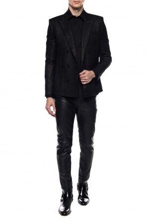 Double-breasted blazer od Saint Laurent
