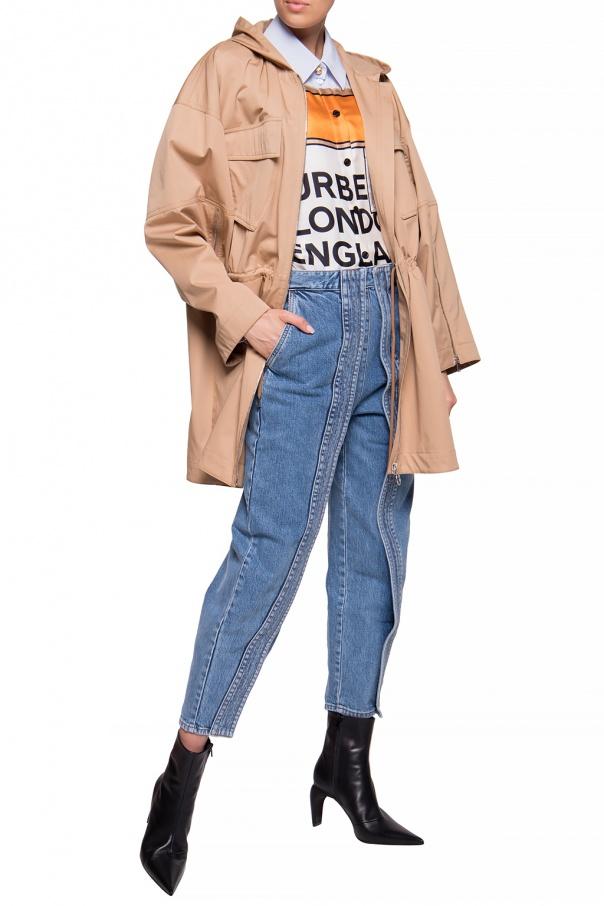 Stella McCartney Kurtka z kapturem BIdYhcaQ