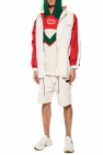 Gucci Rain jacket with 'Web' stripes