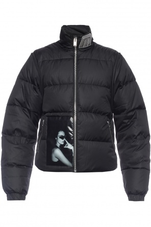 Patched quilted jacket od MISBHV