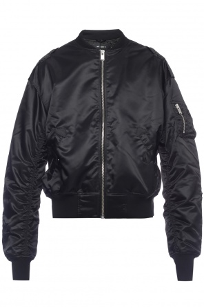 Patched bomber jacket od MISBHV