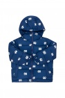 Stella McCartney Kids Quilted hooded jacket