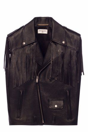 Fringed vest od Saint Laurent