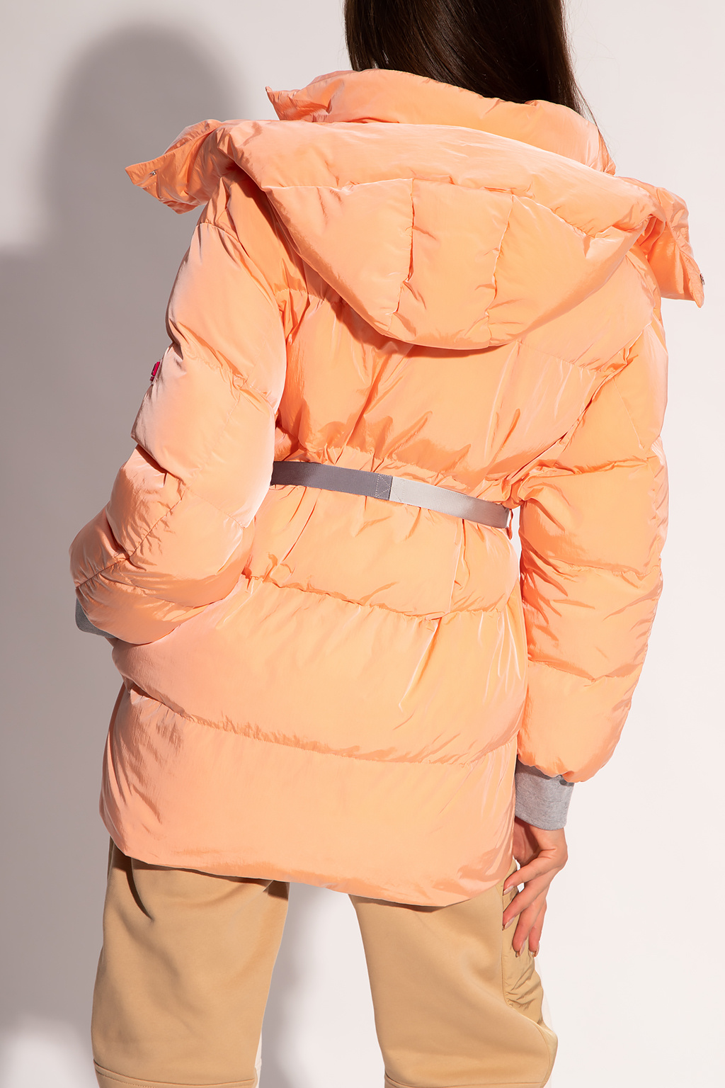 Stella McCartney Quilted jacket with logo
