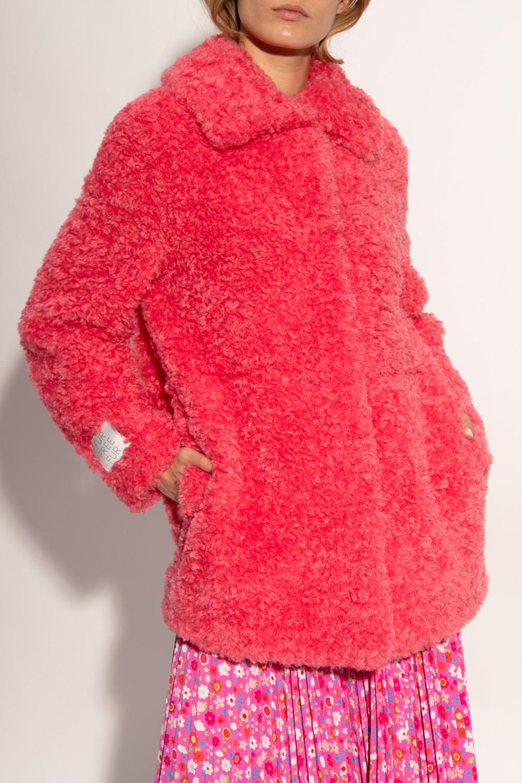 Stella McCartney Faux-fur coat