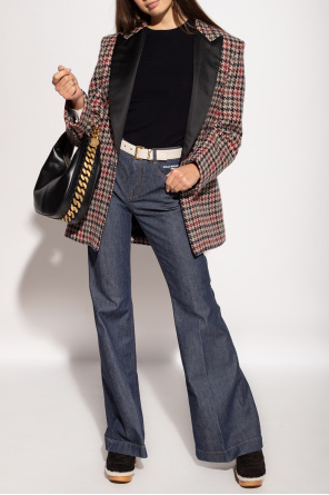 Houndstooth-pattern blazer od Stella McCartney