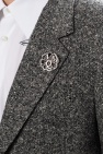 Alexander McQueen Blazer with removable brooch
