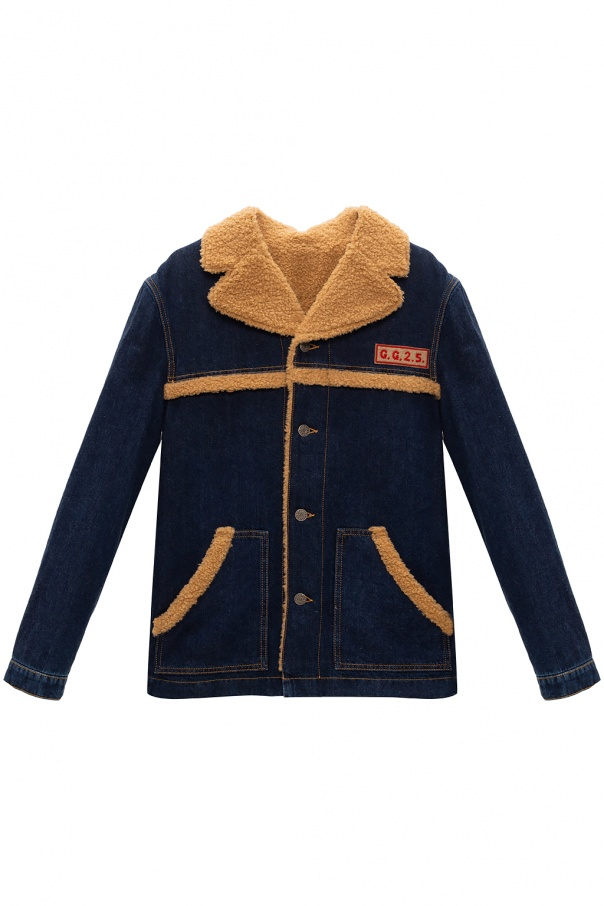 Gucci Kids Denim jacket with logo