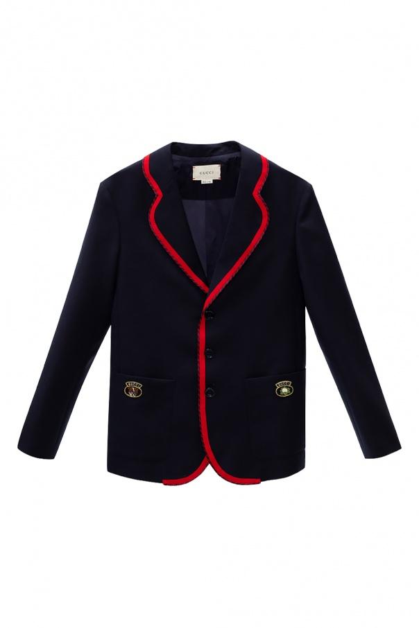 Gucci Kids Patched blazer