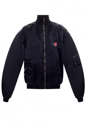 Logo-embroidered jacket od Balenciaga