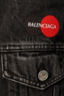 Balenciaga Denim jacket with logo