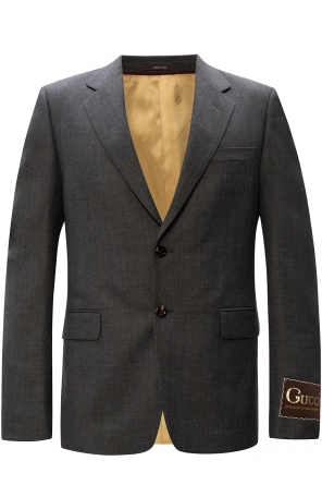 Blazer with notched lapels od Gucci