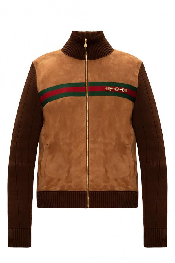 Gucci Branded bomber jacket
