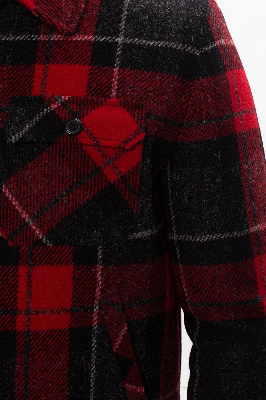 Saint Laurent 羊毛格纹夹克