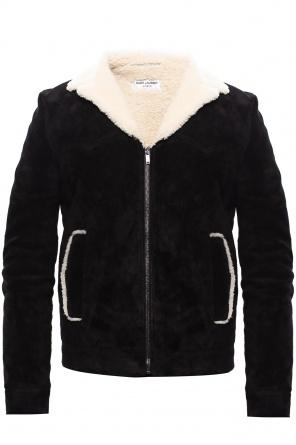 Leather jacket od Saint Laurent