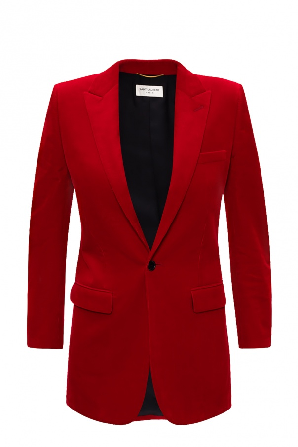 Saint Laurent Peak lapel blazer