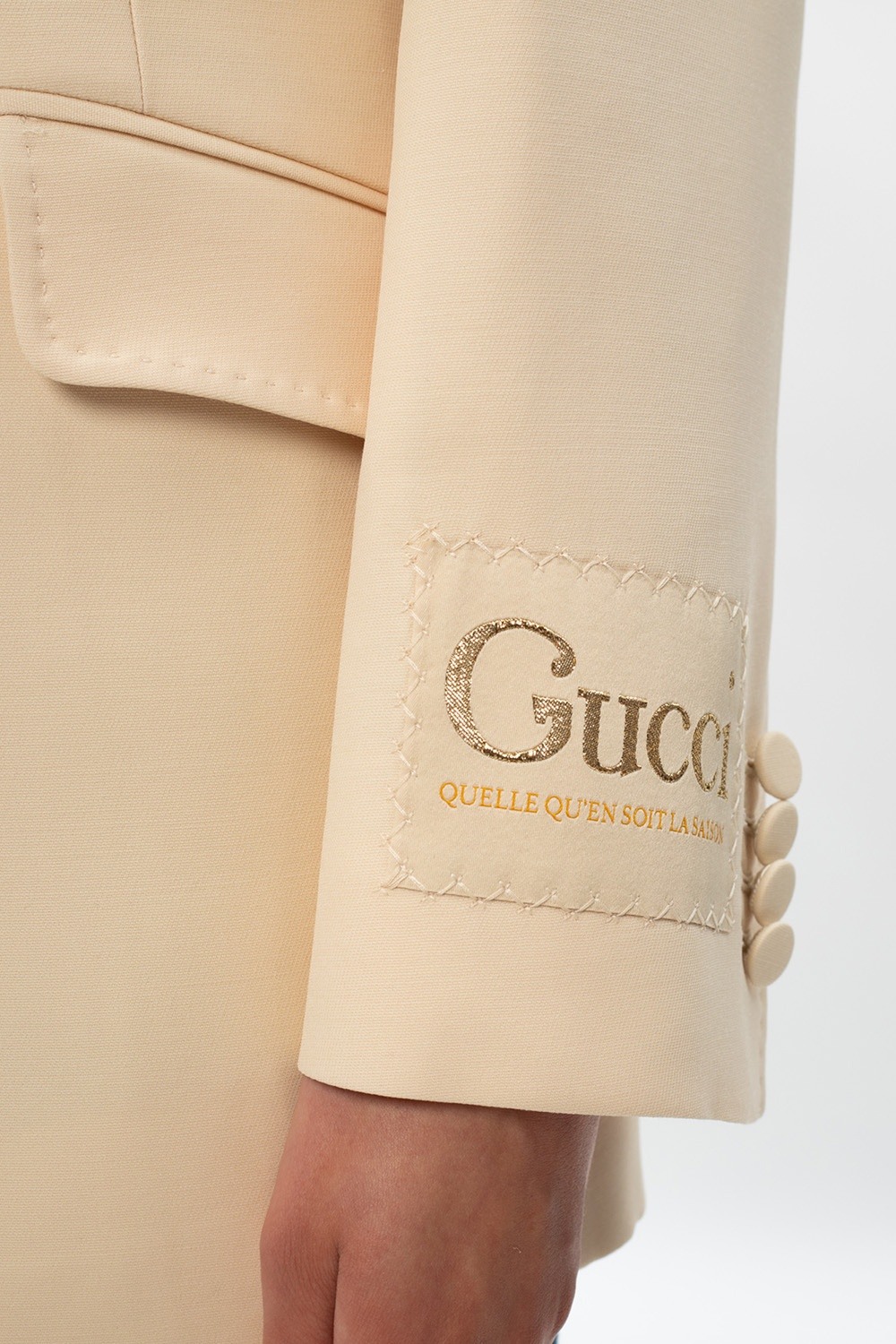 Gucci Logo-patched blazer