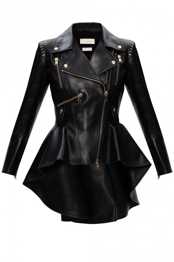Alexander McQueen Asymmetrical jacket