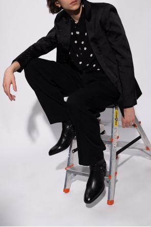 Blazer with peaked lapels od Saint Laurent