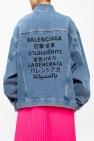Balenciaga Washed-out denim jacket