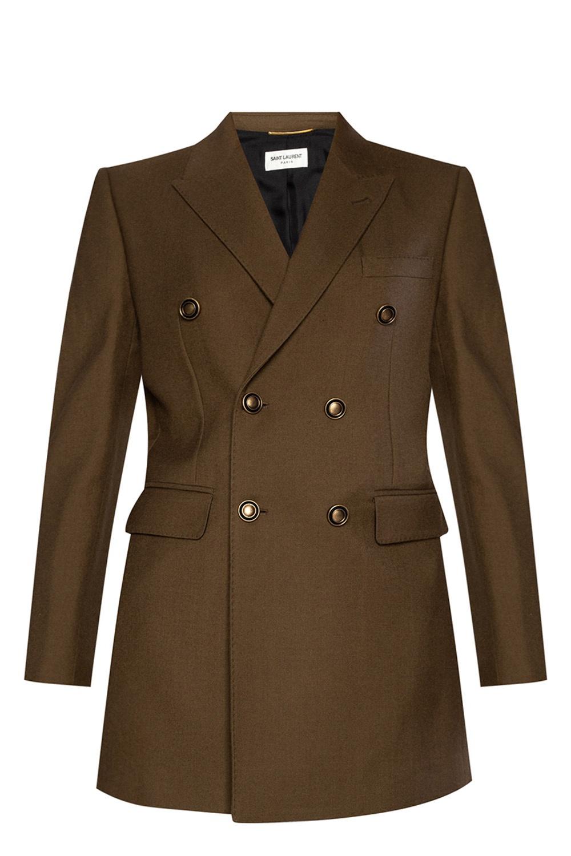 Saint Laurent Double-breasted coat