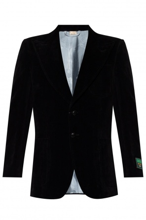 Blazer with peaked lapels od Gucci