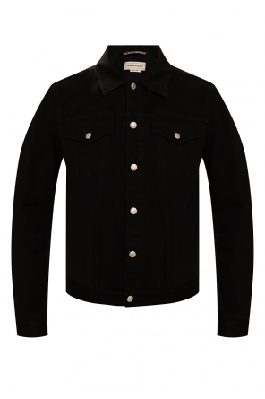 Denim jacket od Alexander McQueen