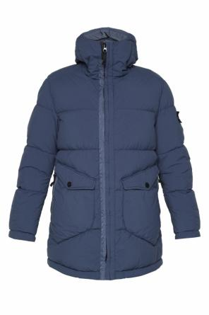 Hooded down jacket od Stone Island