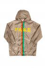 Gucci Kids Patterned hooded jacket