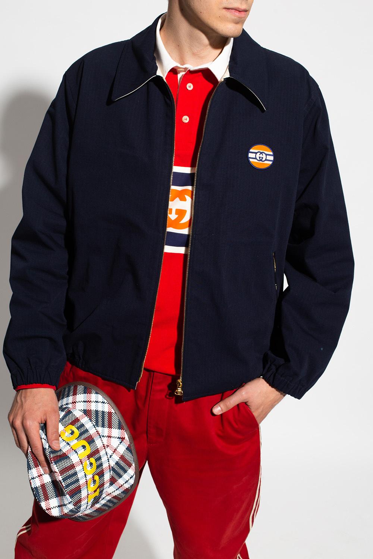 Gucci Kurtka z aplikacją z logo