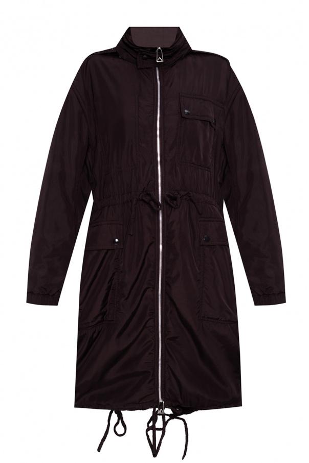 Bottega Veneta Coat with openwork hood