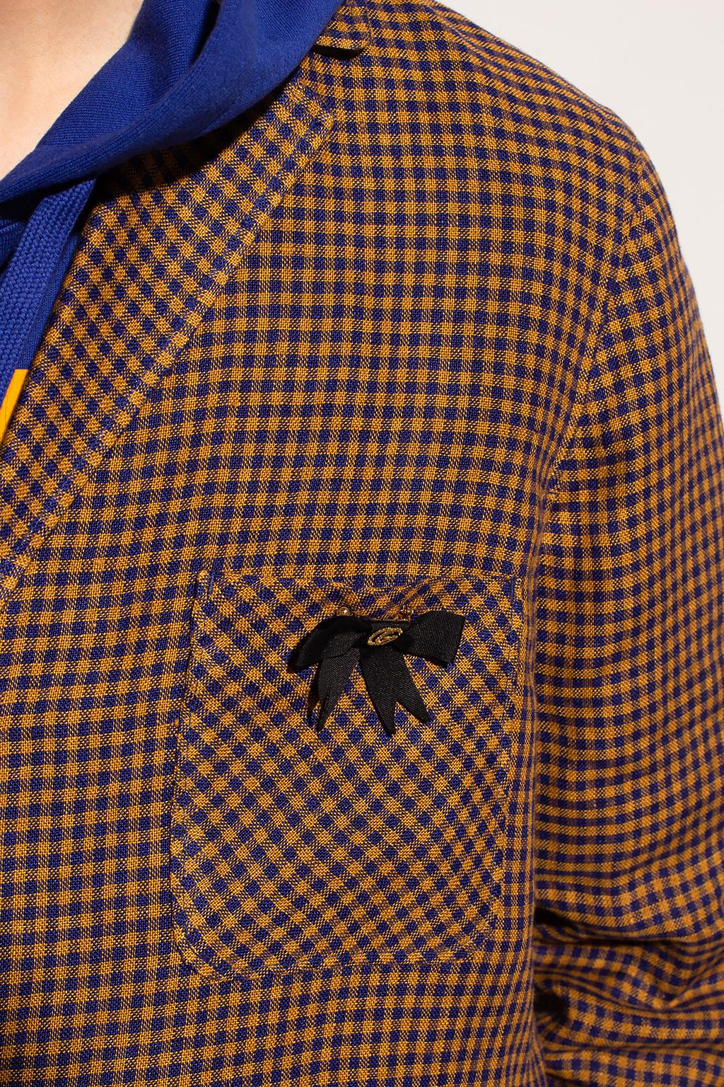 Gucci Checked blazer