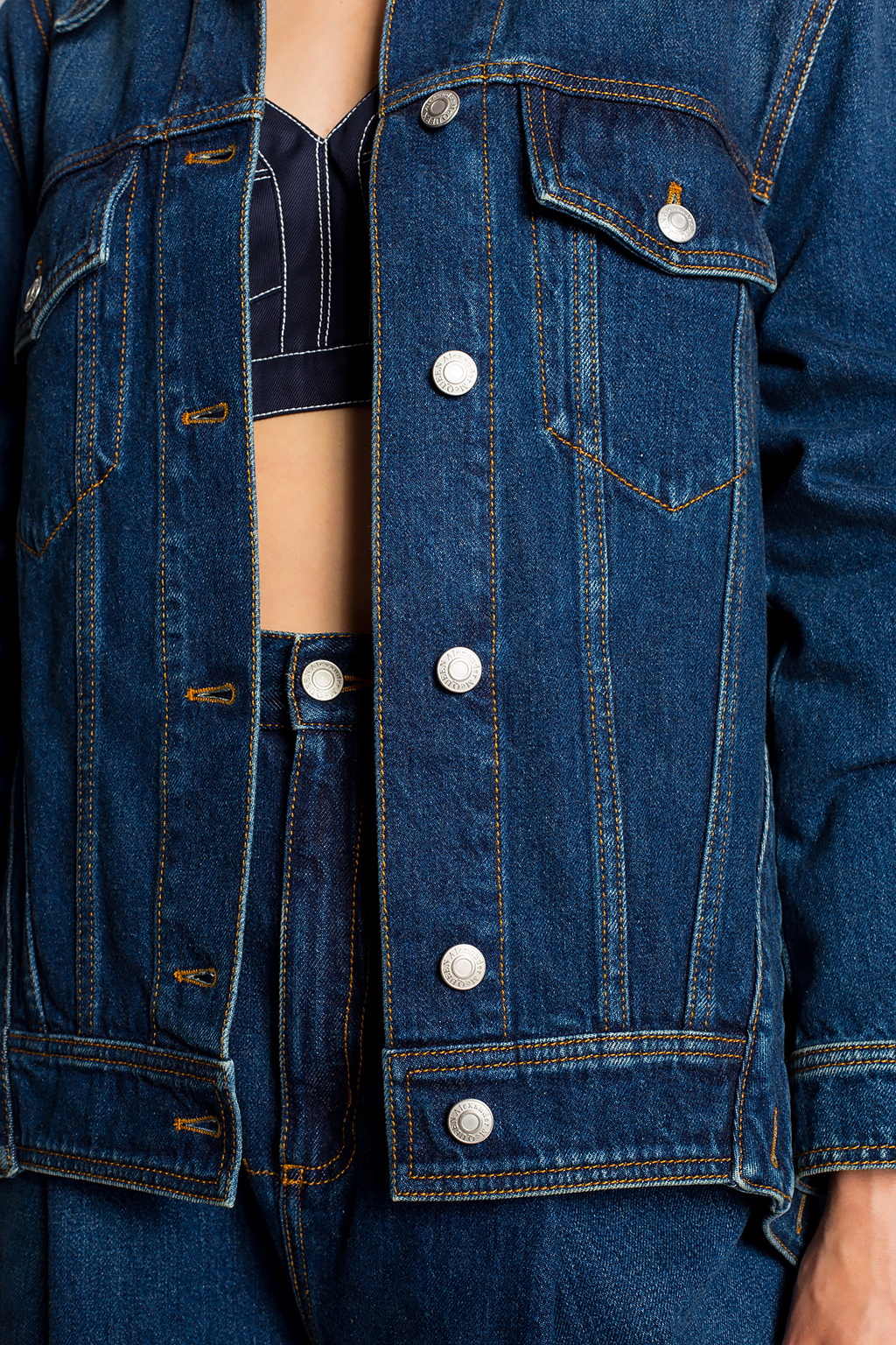Alexander McQueen Oversize denim jacket