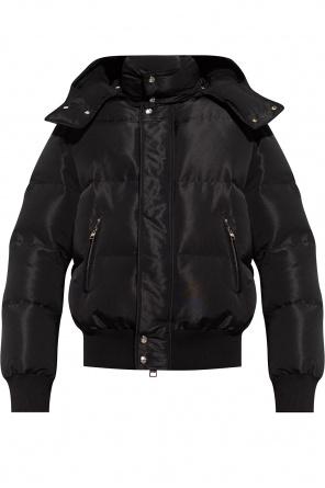 Jacket with detachable hood od Alexander McQueen