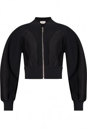 Zip-up sweatshirt od Alexander McQueen