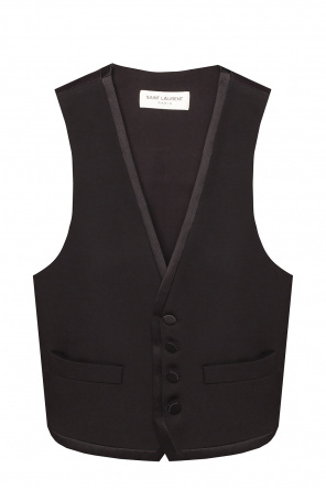 Wool vest od Saint Laurent