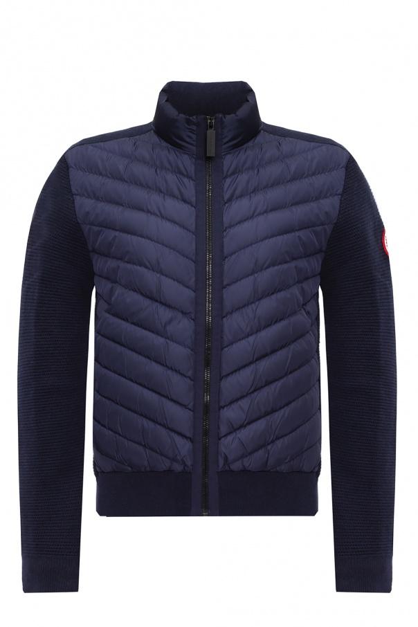 Canada Goose 'Hybridge' down & wool jacket