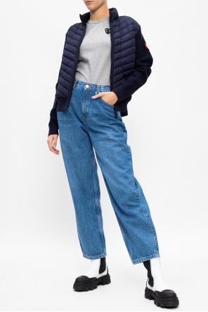 'hybridge' down & wool jacket od Canada Goose