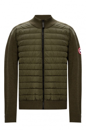 'hybridge' quilted front jacket od Canada Goose