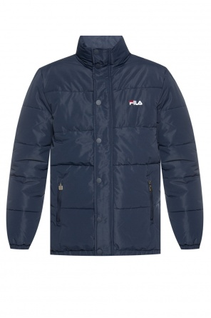 Quilted jacket with logo od Fila