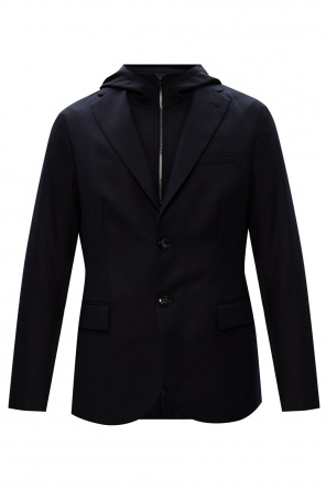 Hooded blazer od Emporio Armani