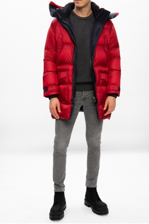 Quilted down coat od Emporio Armani