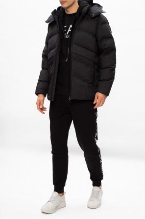 Jacket with logo od EA7 Emporio Armani