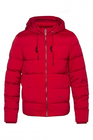 Hooded quilted jacket od Emporio Armani