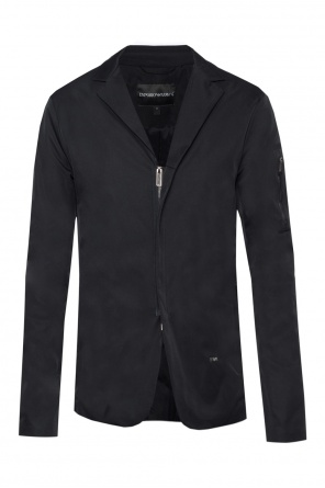 Jacket with notch lapels od Emporio Armani